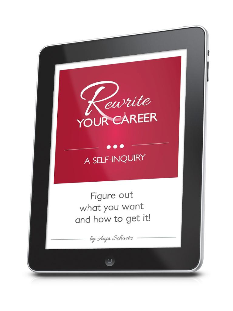 Rewrite Your Career on iPad Myebookcovermaker.com