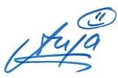 Anja Signature Blue