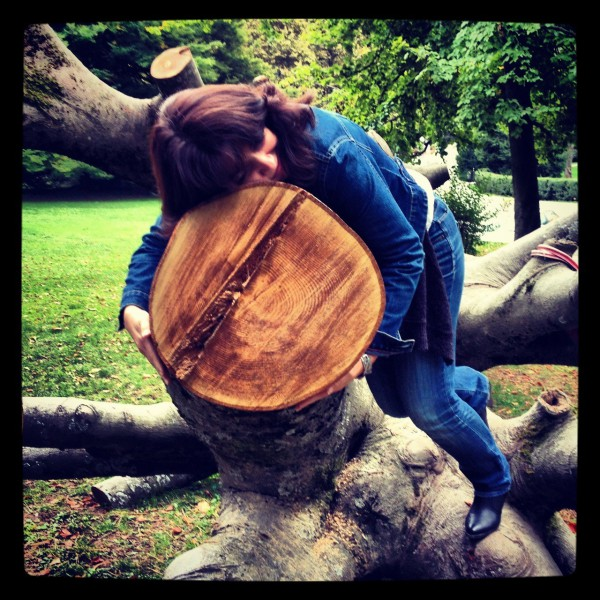 Anja treehugger